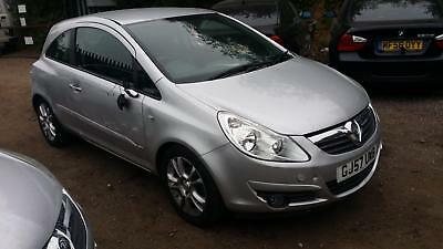 2007 Vauxhall Corsa 1.4i SXi STARTS+DRIVES SPARES OR REPAIRS