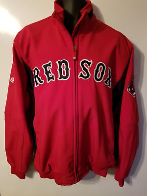 Men's Authentic Boston Red Sox Majestic MLB Baseball Dugout Jacket Zip Up XL