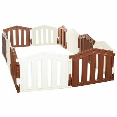 Playpen12 sided Baby Room Divider Security Gate Child Set XXL Safety Playard