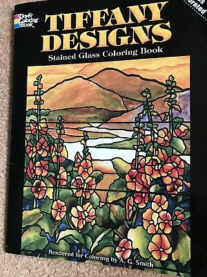 EASTER ORNAMENTS STAINED GLASS COLORING BOOK, Dover, 8 ...
