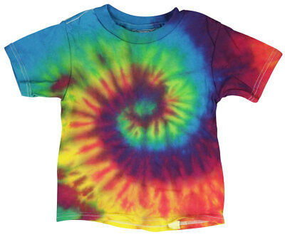 Tie-Dye T-Shirt - Reactive Rainbow -Toddler / 3T