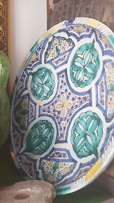 Fez Pottery Charger