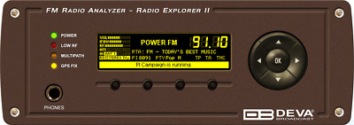 Deva Radio Explorer II - Mobile FM Radio Analyzer
