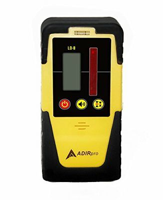 AdirPro LD-8 Universal Rotary Laser Receiver Detector with Rod Clamp