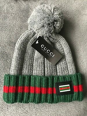 5607f77f099 GUCCI BOBBLE HAT Beanie size S M Winter NEW 2018 Womens Or Men s ...