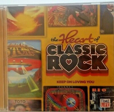 The Heart of Classic Rock CD 2-Disc Keep on Loving You Various Artists Time Life