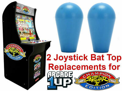 Arcade1up Street Fighter 2 Rampage Pacman Astroids Centipede 2 Joy Stick Bat Top
