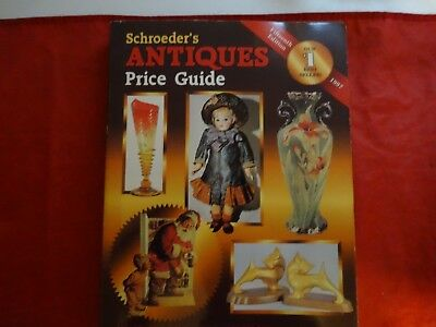 Schroeders Antiques Price Guide (1997, Paperback)