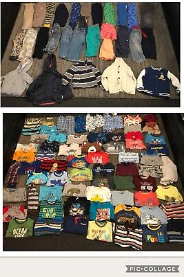Baby Boys 2-3 Years Clothes Bundle 101 Items