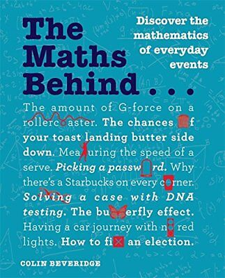 Maths Behind... by Colin Beveridge New Paperback / softback Book