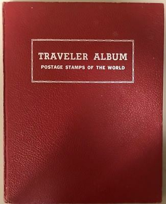 HE HARRIS TRAVELER Worldwide Stamp Album, 1960 Edition *d