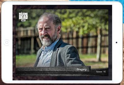 EPOCH SEASON 6 WAVE 1 MARATHON GREGORY Topps Walking Dead Card Trader Digital