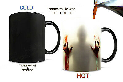 Magic Zombie Walking Dead  Tea Hot heat sensitive Changing Color Mug