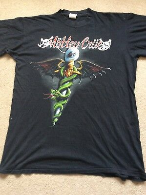 Vintage 1989 Motley Crue Dr Feelgood T-shirt XL