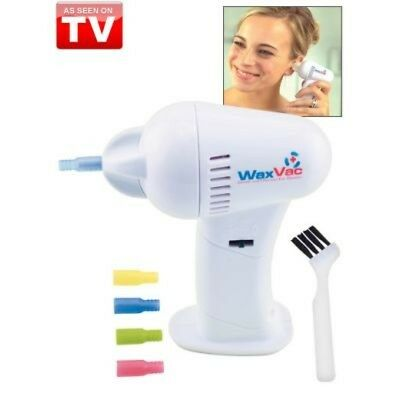 WaxVac Gentle Effective Ear Cleaning  As Seen on TV  NEW