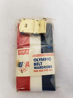 = Vintage 1984 USA Olympics Belt Wardrobe in Package One Size Fits All RARE