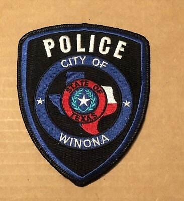 Texas Police Shoulder Patch