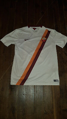 KAPPA AS ROMA MAILLOT TOTTI 10 - away - excellent état - taille M