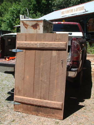 Antique 1800's Home, Shed Barn Door Architectural Salvage Reclaimed Primitive