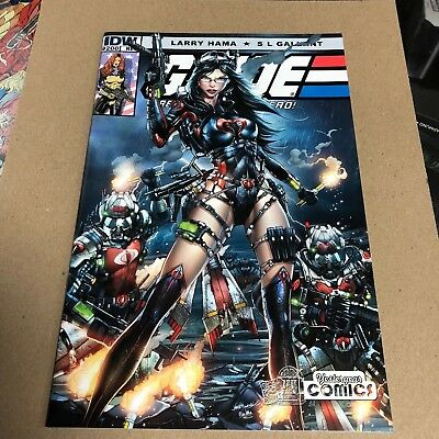 G.I Joe Real American Hero #200 Yesteryear Comics Jamie Tyndall variant.