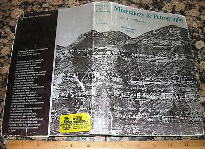 MINERALOGY & PETROGRAPHY by Milovosky 1982 Crystallography Rocks Minerals Mining