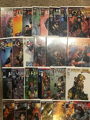 Lot Of 35 Top Cow Comic Books Witchblade Darkness Universe