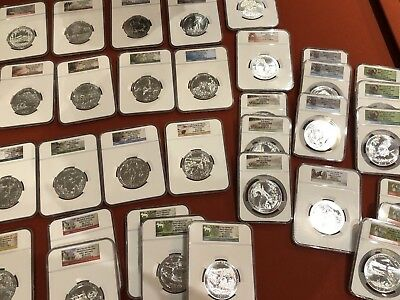 33 America The Beautiful ATB 5 oz NGC MS69  DPL PL Early Releases 1st Day Hoard!