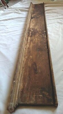 Antique Victorian Oak Style Door- Mantel Casing Trim Architectural Salvage