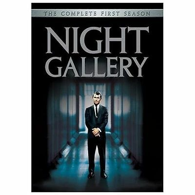 Night Gallery - The Complete First Season (DVD, 2004, 3-Disc Set) ROD SERLING