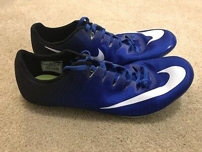 hot sale online 0e1ee f01c4 Nike Zoom Superfly Elite Racing Track Spikes (835996-413) Size 13 Blue