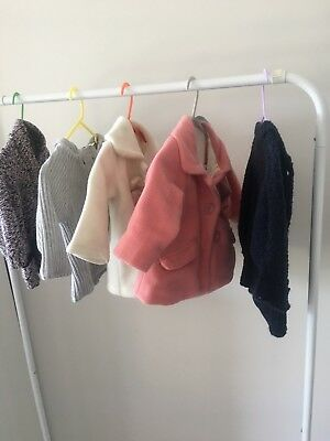 5 X Size 0 Long Sleeve Girls Jumpers