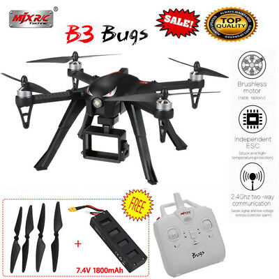 MJX B3 Bugs3 2.4G 4CH 6-Axis RC Quadcopter Camera Drone RTF Helicopter Toy