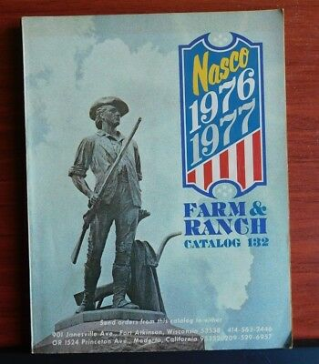 1976-1977 Nasco Farm & Ranch Catalog #132 - 334 pages color illustrated