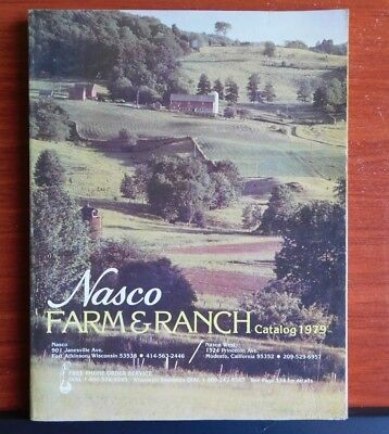 1979 Nasco Farm & Ranch Catalog #146 - 334 pages color illustrated