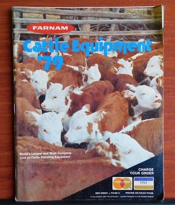 1979 Farnam Cattle Equipment Catalog #79CC - 70 pages color illustrated