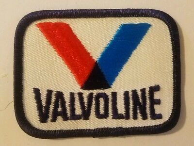 Vintage VALVOLINE Oil Co. Embroidered Patch