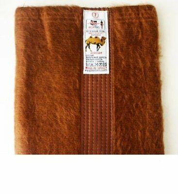 Natural Camel Wool Back Warmer Supporting Belt, Unisex Helps Back Problems
