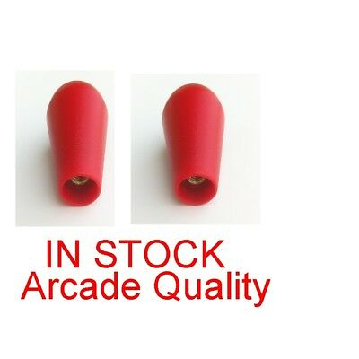 IN STOCK Red Bat Top Joystick Handles Top for Arcade1up Street Fighter Rampage