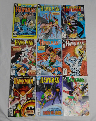 HAWKMAN #1-6 #10-11 Special #1 * DC Comic Lot * 9 Comics 2 3 4 5 6 1986