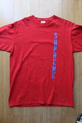 8a3dce94368 SUPREME X THRASHER T-Shirt Tee Size L Red