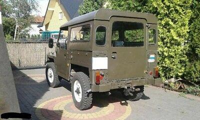 land rover 88 military lightweight lhd Cabrio