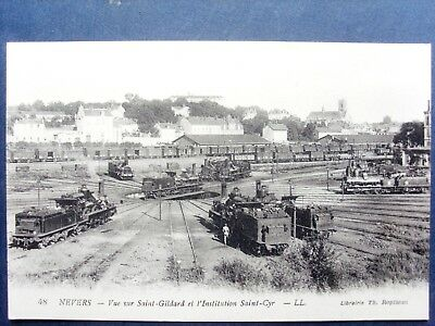 58 ,nevers ,la rotonde  ,les locomotives ,