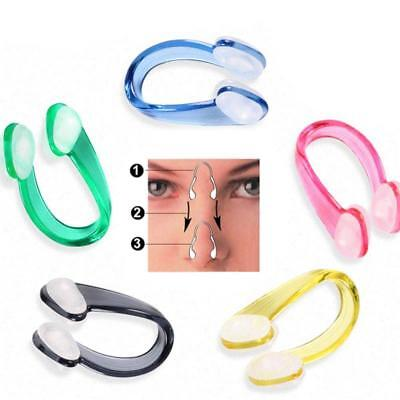 Small Adult Children Unisex Soft Silicone Swimming Nose Clip Waterproof