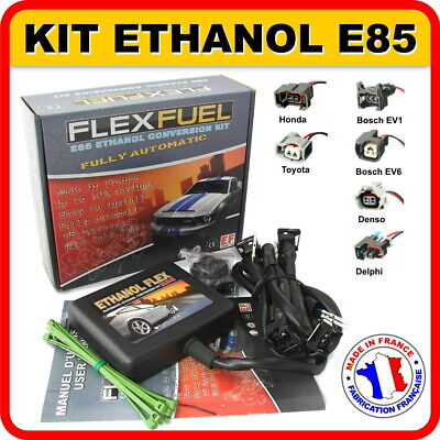 Kit Ethanol Flex E85 - 4 Cylindres, Kit De Conversion Ethanol E85, Flex Fuel Kit