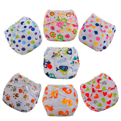 Adjustable Washable Insert Baby Cloth Diapers Reusable Nappy InfantYC