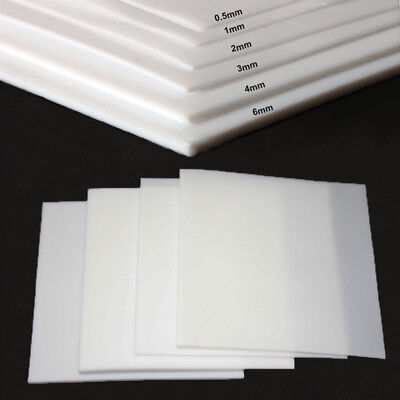 0.5-6mm High Quality PTFE Teflon Film Sheet High Temperature Plastics Plate
