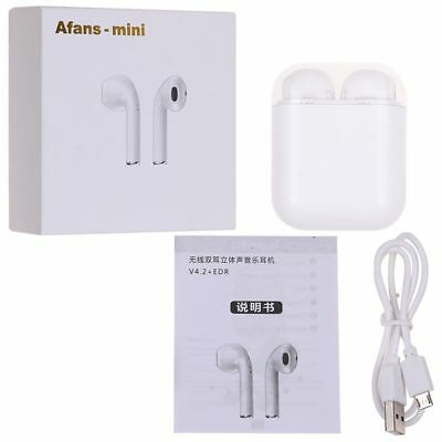 Bluetooth Earbuds Wireless Earphones w/ Charging Case I8s TWS Afans / Ifans