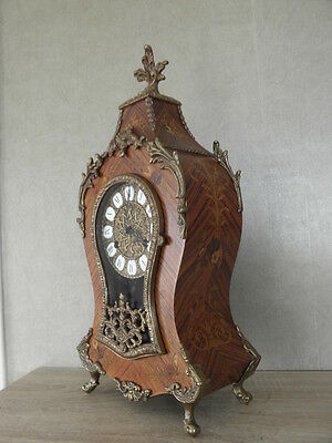 Beautiful Clock Franz Hermle FHS bell Chime Musical Boulle Style Bracket horloge