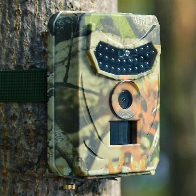 12MP HD Hunting Trail Camera PIR IR LED Motion Activated Security Wildlife Trap