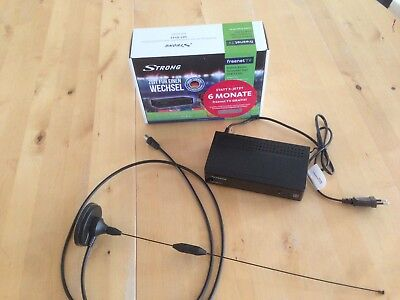 STRONG SRT 8541 DVB-T2 HD Receiver incl. freenet TV plus einfache Zimmerantenne
